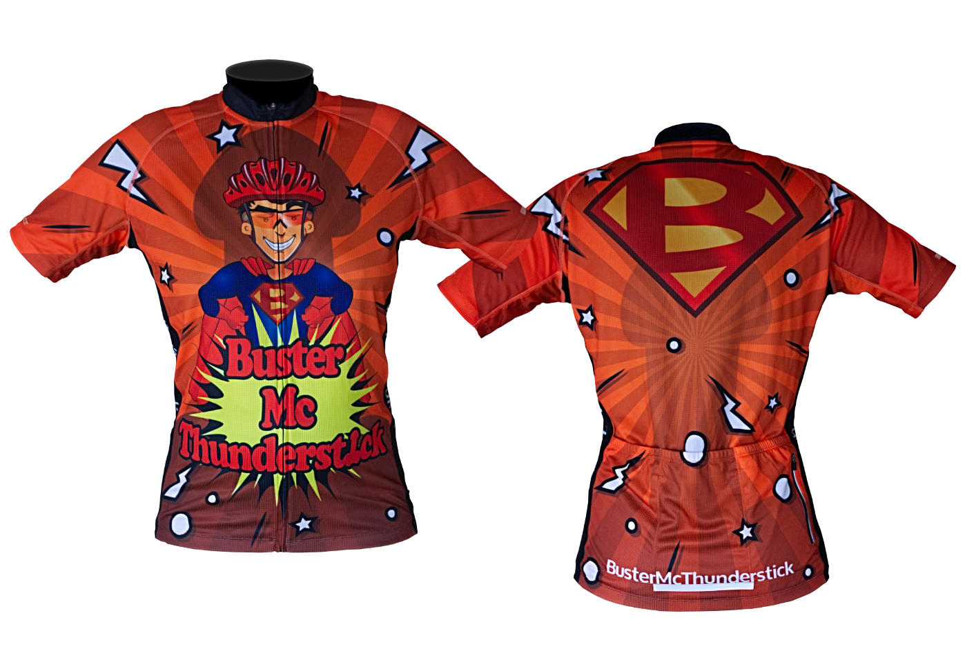Custom road mountain bike jersey