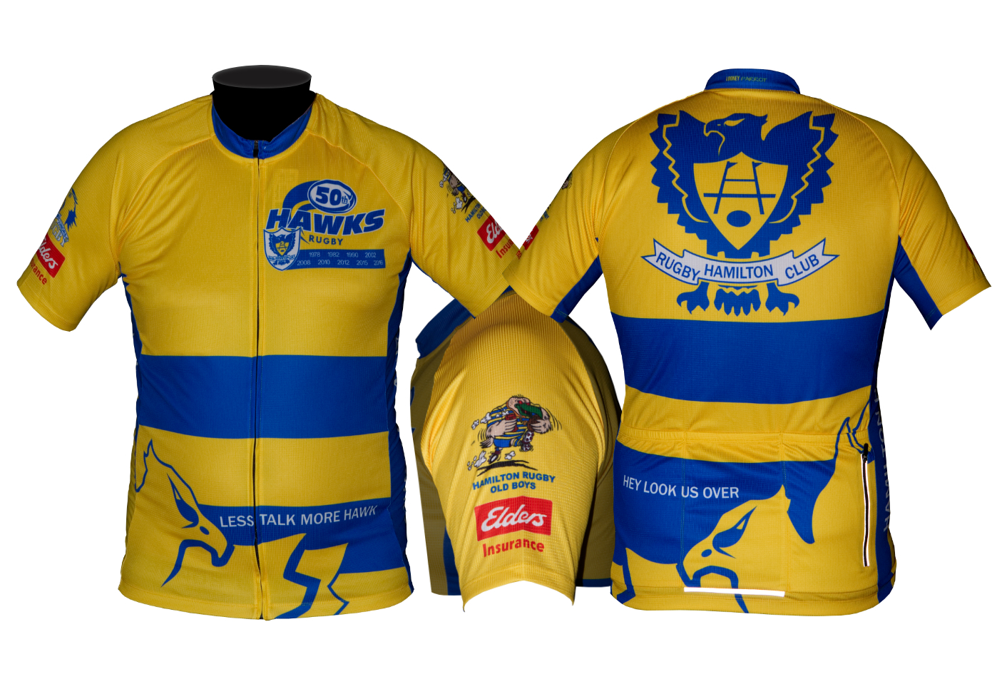 Custom designed cycling jersey looney parrot