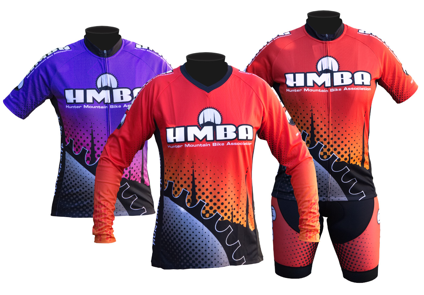 hunter mountain bike association custom jersey