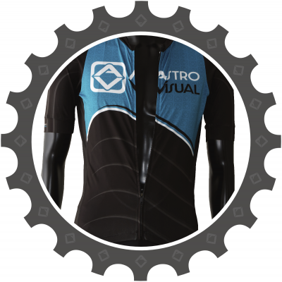 pro race cycling jersey custom designed full zipper