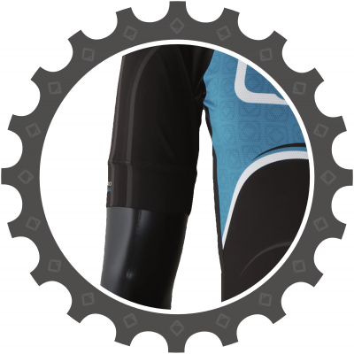 wide sleeve band pro race cycling jersey
