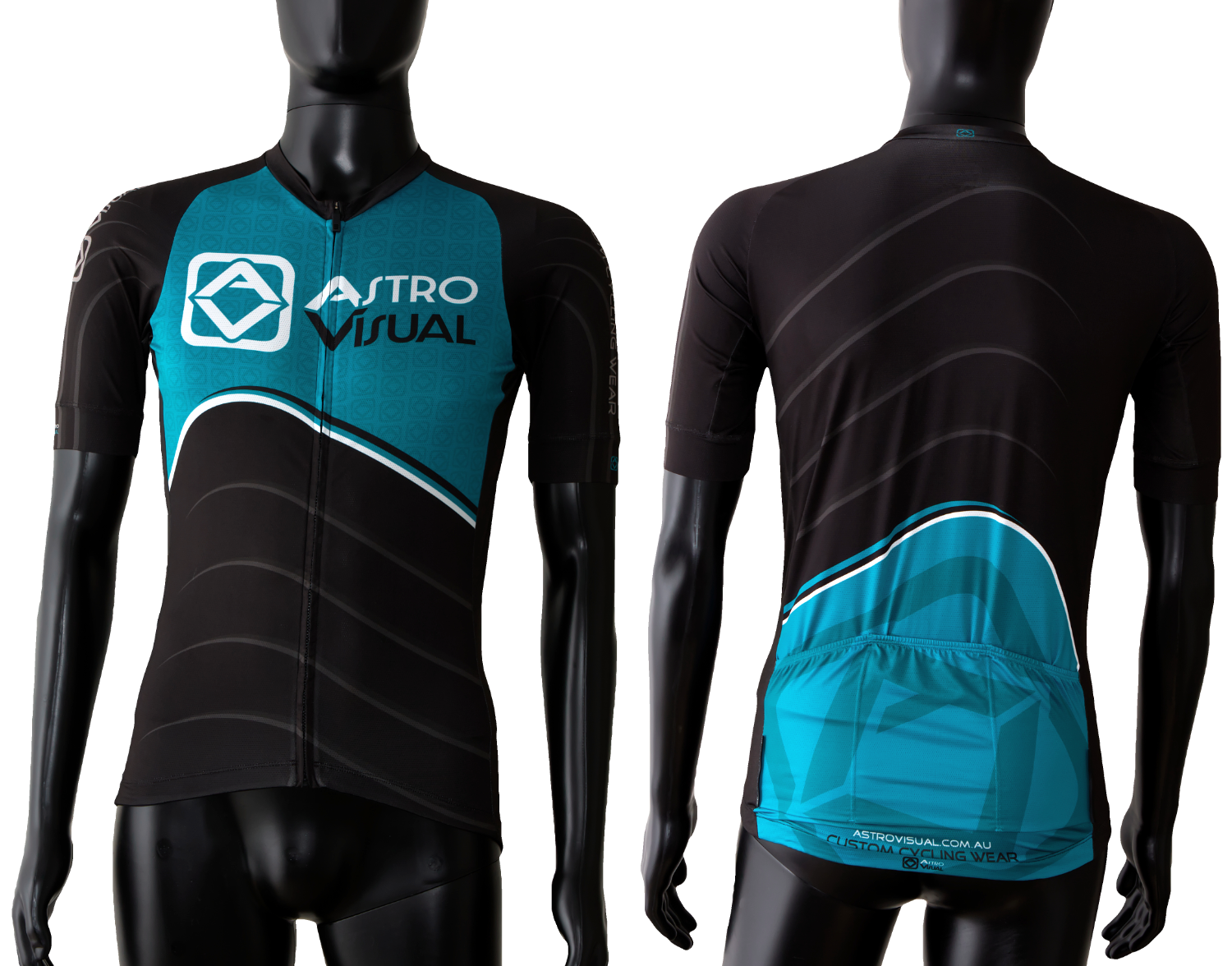custom designed pro racing cycling jersey