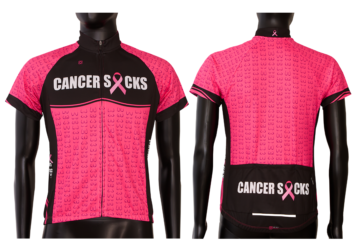 cancer sucks cycling custom design jerseys