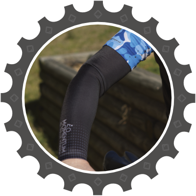 Arm Warmers (Sleeves) in both summer and winter fleece.