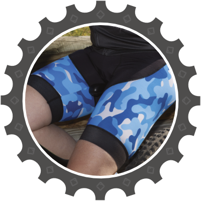 Lycra Shorts (std and bib style) in both short or long with high quality, anti-bacterial pads.