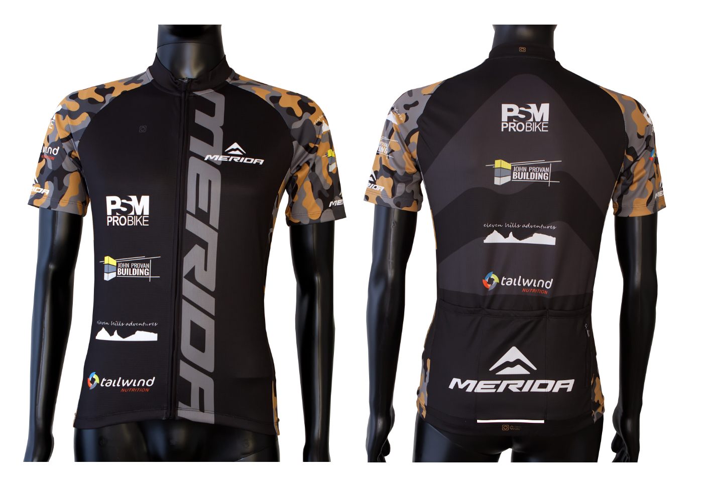 custom designed Merida race jersey