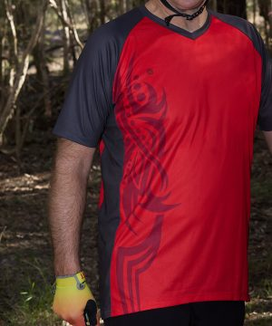 Tribal Red Trail Jersey