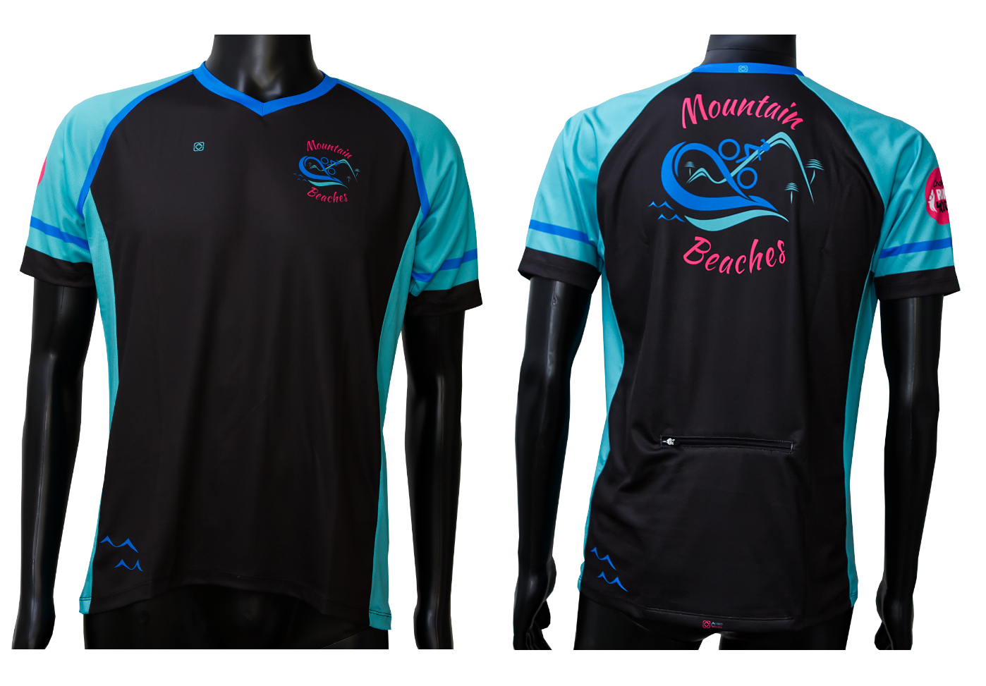 Custom designed MTB short sleeve jersey