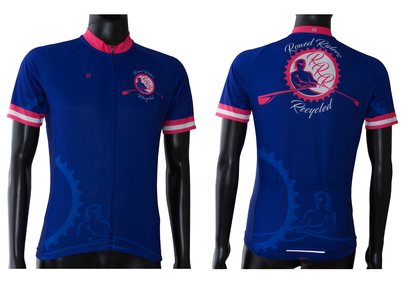 custom designed cycling jersey astro visual