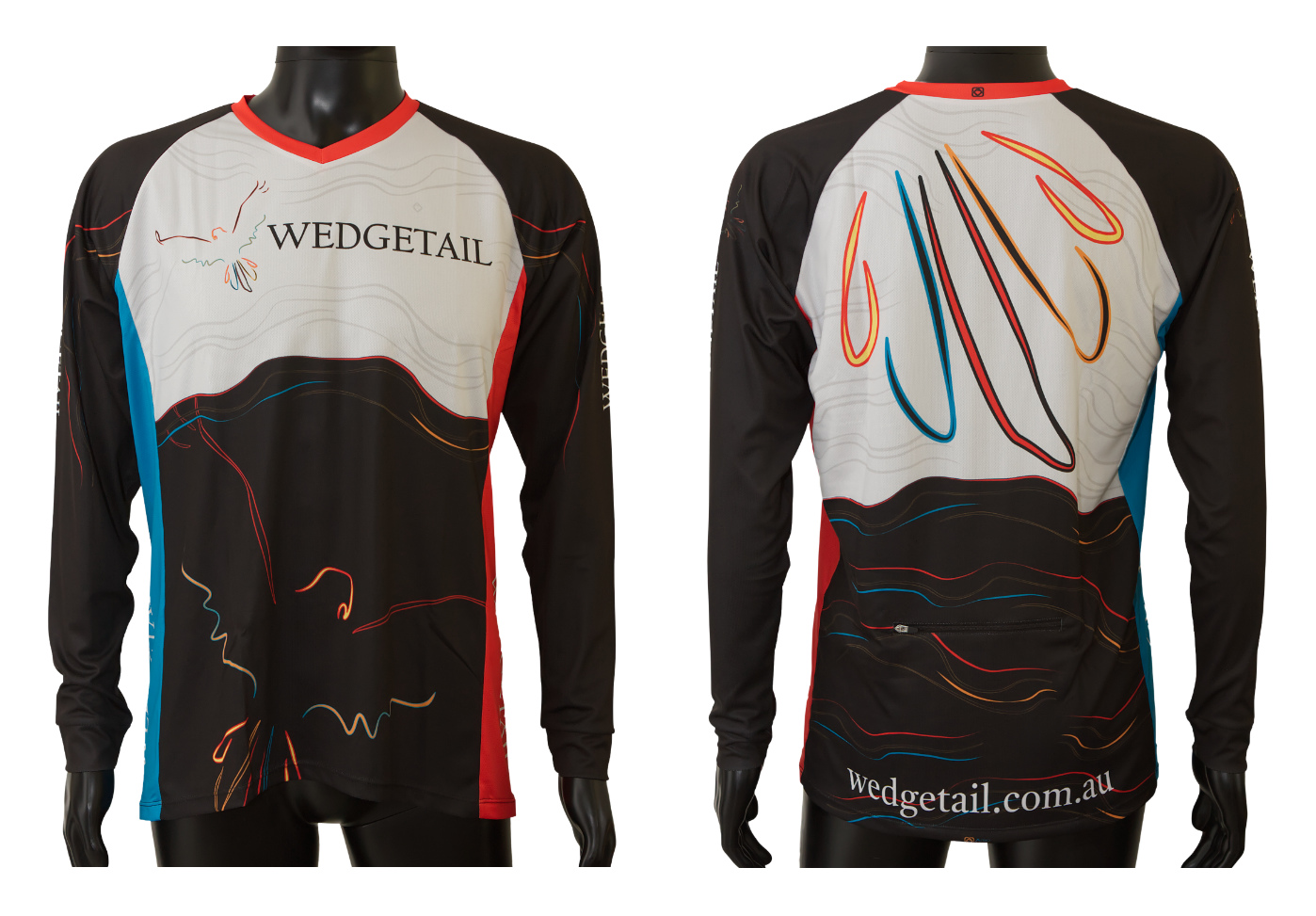Custom designed mountain bike jersey Astro Visual