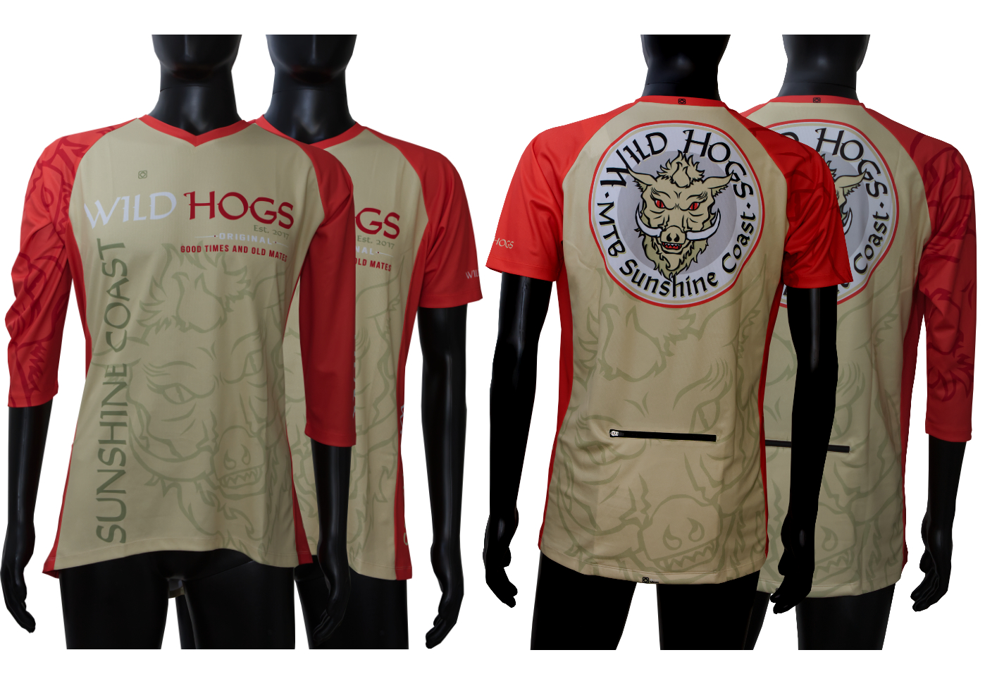 custom designed mtb mountain bike trail jerseys astro visual